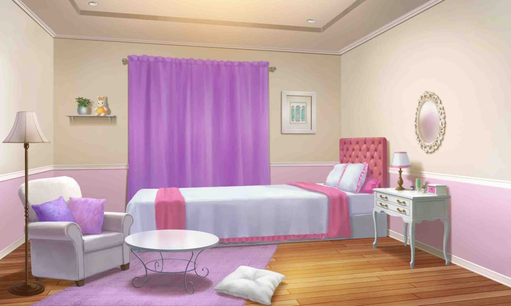 ID001_Girls Room_Night