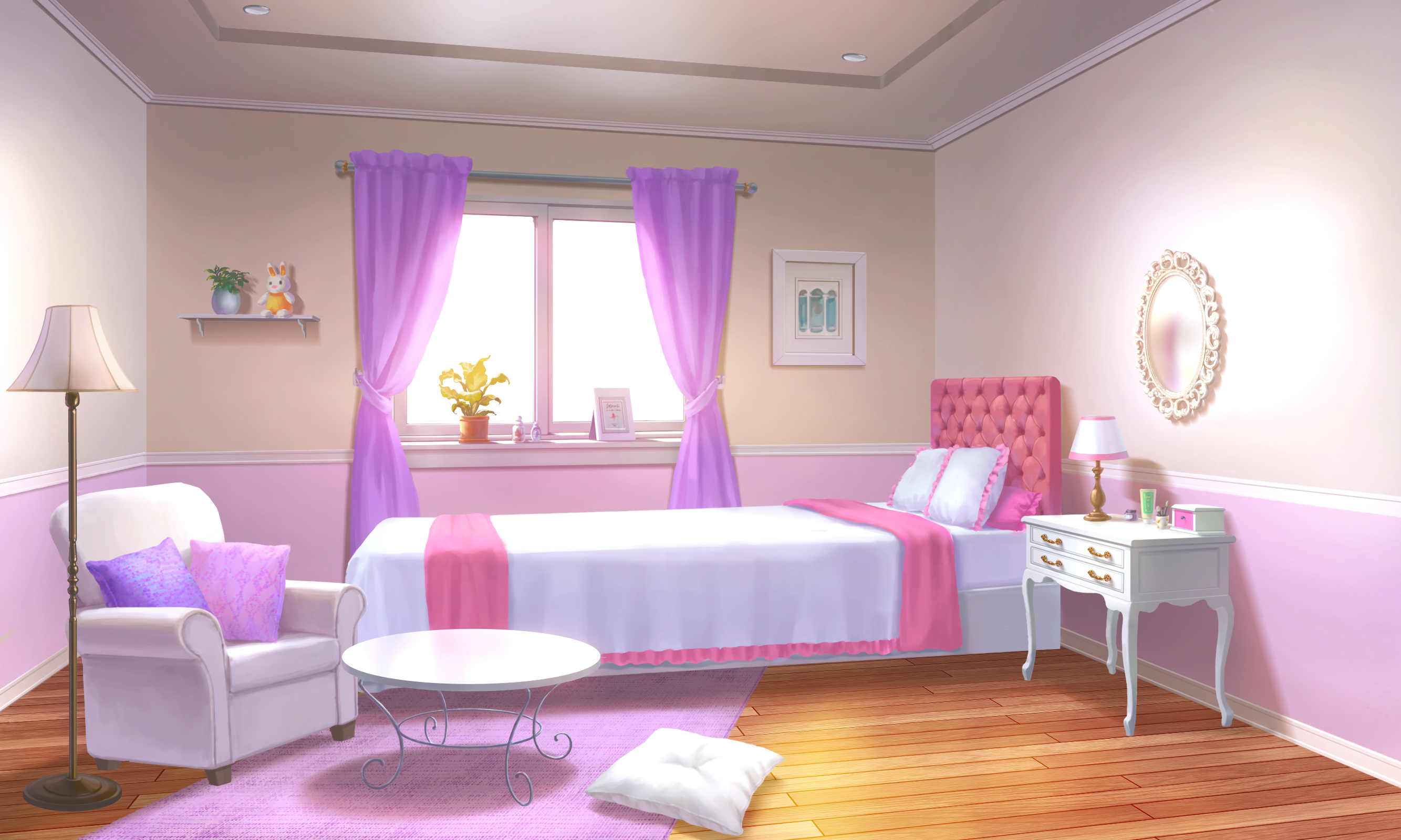ID001_Girls Room_Noon